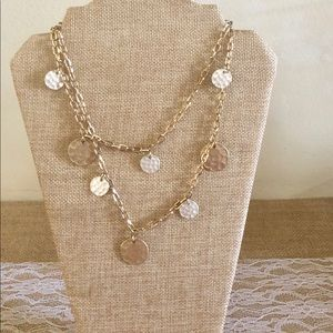 Price ✂️🌺Long36 Gold Silvertone Necklace 🌺